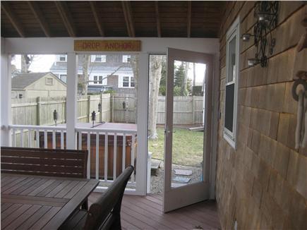 New Seabury, Popponesset New Seabury vacation rental - Screened Porch