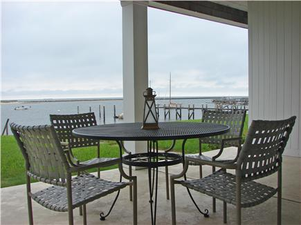 Yarmouth, On Bass River Cape Cod vacation rental - Patio with Ocean & River Views