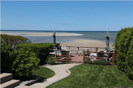 Brewster Cape Cod vacation rental - Steps to the deck, and private stairs to the beach