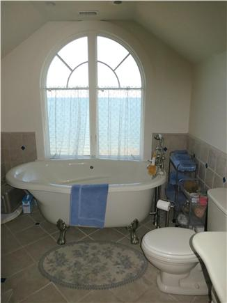 Brewster Cape Cod vacation rental - Clawfoot jacuzzi for two -- great for a champagne sunset
