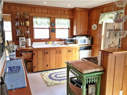 Brewster Cape Cod vacation rental - Cozy kitchen with updated appliances