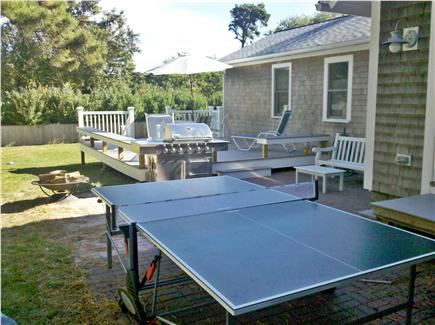 Chatham Cape Cod vacation rental - Year Round Outdoor Ping Pong and excellent outdoor area