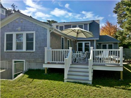 Chatham Cape Cod vacation rental - Wonder-full access off deck to fully enclosed back yard