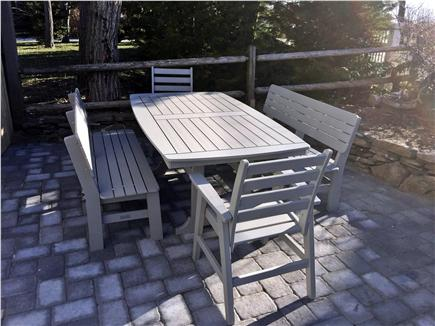 Chatham Cape Cod vacation rental - Enjoy dining outside on the oversized table