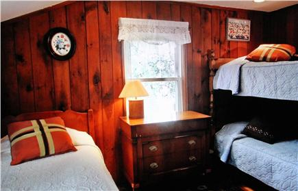 Dennisport Cape Cod vacation rental - Two of three bedrooms on the second floor