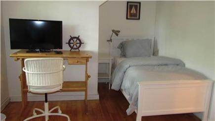 Woods Hole Woods Hole vacation rental - Upstairs bedroom with two new twin beds and 32 inch HDTV