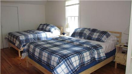 Woods Hole Woods Hole vacation rental - Upstairs bedroom with new queen and full beds and 40 inch HDTV