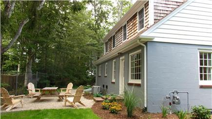 Woods Hole Woods Hole vacation rental - Beautiful backyard with outdoor seating and 5-burner gas grill
