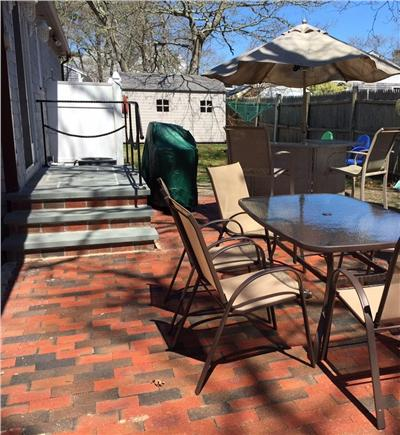 Yarmouth Cape Cod vacation rental - Plenty of seating on the new patio.