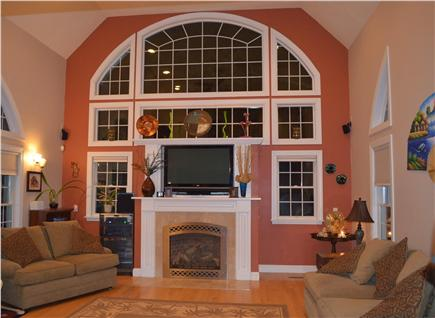 Bayside of Eastham Cape Cod vacation rental - Living room
