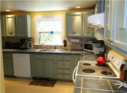 Brewster Cape Cod vacation rental - A well appointed kitchen.  We have everything you might need.