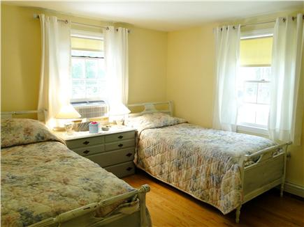 Brewster Cape Cod vacation rental - Twin beds.  There's a great cross draft and lots of light here.