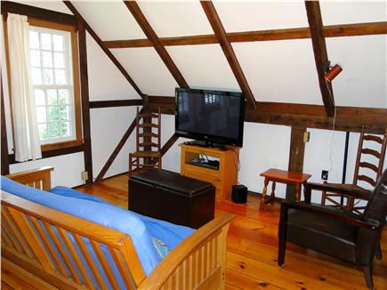 Orleans Cape Cod vacation rental - Bright family room with flat screen and large windows