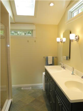 Orleans Cape Cod vacation rental - New master bath – bright and clean