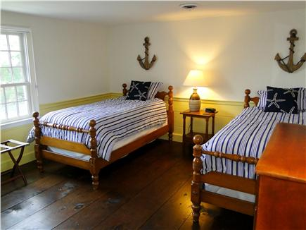 Orleans Cape Cod vacation rental - Twin bedroom, all bedrooms with hardwood floors