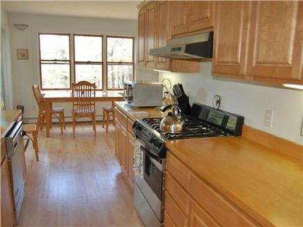 Truro Cape Cod vacation rental - Gas stove/large fridge/dishwasher. Fully stocked for gourmet chef