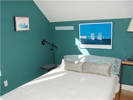 Truro Cape Cod vacation rental - 3rd Bedroom has clear views of Great Hollow Beach & sunsets