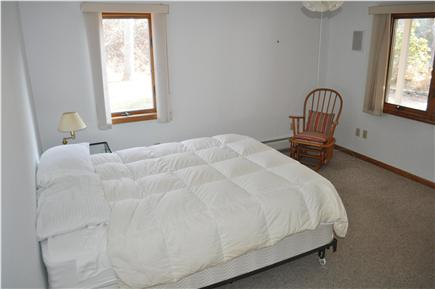 N. Truro Cape Cod vacation rental - Downstairs bedroom with queen-size bed