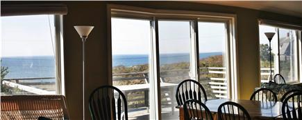 North Truro Cape Cod vacation rental - Dining view is spectacular!