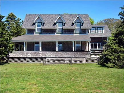Falmouth, Menauhant Cape Cod vacation rental - Wrap-around porches catch summer breezes off Vineyard Sound