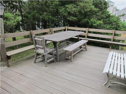 Falmouth, Menauhant Cape Cod vacation rental - Large back sundeck