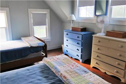 Falmouth, Menauhant Cape Cod vacation rental - Sunrise room w/water views 2nd floor (twinbeds)