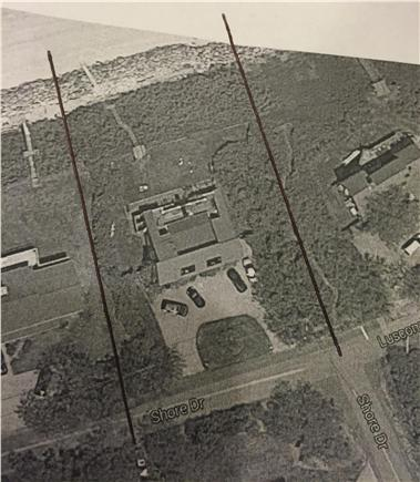 Dennis Cape Cod vacation rental - Aerial view of the property