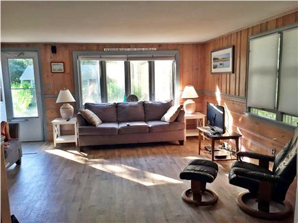 New Seabury, Popponesset New Seabury vacation rental - Open concept living room.