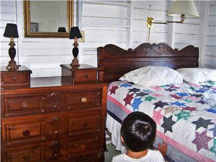 North Truro Cape Cod vacation rental - Bedroom in the antique Sears ''kit house,'' circa 1902