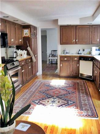 Dennis Village Cape Cod vacation rental - Up to date well equipped kitchen overlooks family room