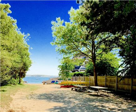 Yarmouth Cape Cod vacation rental - Private beach within walking distance