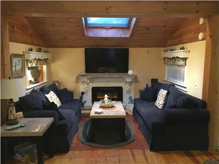 Dennisport Cape Cod vacation rental - Family room with 55'' Smart TV