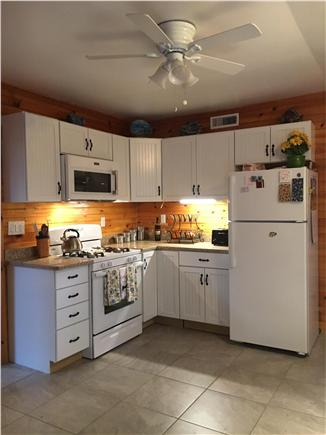 Dennisport Cape Cod vacation rental - Updated kitchen with new cabinets and quartz countertops
