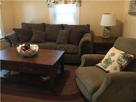 Dennisport Cape Cod vacation rental - Parlor with tin ceiling