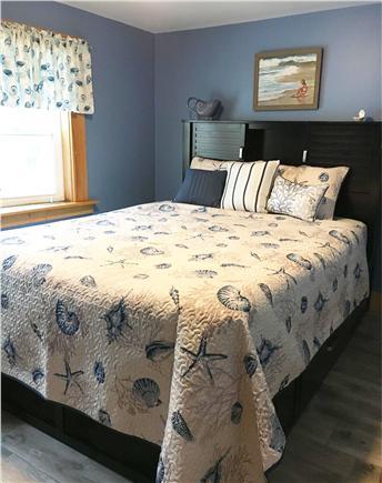 Dennisport Cape Cod vacation rental - First floor queen bedroom with picture window