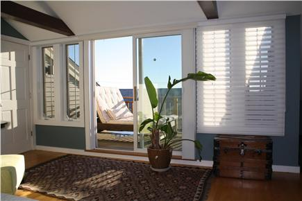 Provincetown Cape Cod vacation rental - Bedroom views across the deck