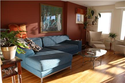 Provincetown Cape Cod vacation rental - Living room with views of the National Seashore