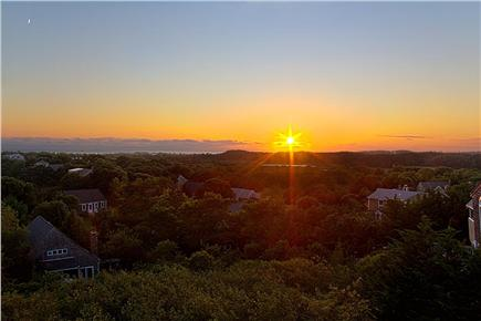 Provincetown Cape Cod vacation rental - Top Deck - Watch the wonderous sunsets in comfort.