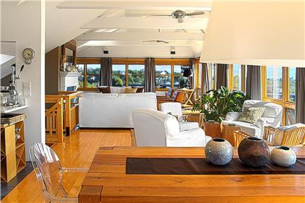 Provincetown Cape Cod vacation rental - Top Floor - Living space surrounded by amazing views.