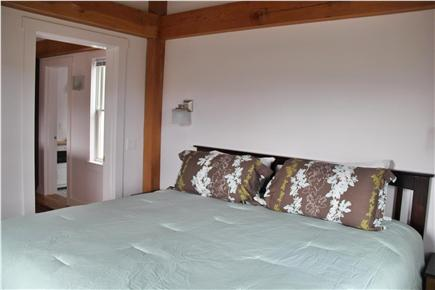 North Truro Cape Cod vacation rental - Bedroom with king size bed and two dressers