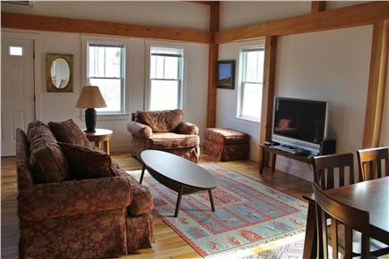 North Truro Cape Cod vacation rental - Main living room area from kitchen