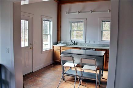 North Truro Cape Cod vacation rental - Kitchen with eating area