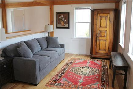 North Truro Cape Cod vacation rental - Pull out queen sofa bed for additional guests