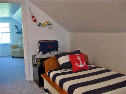 Brewster Cape Cod vacation rental - 2nd Floor Loft with 1 Full, 1 Twin with Twin Trundle