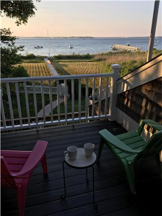Bourne, Pocasset Cape Cod vacation rental - Enjoy your coffee from the 2nd floor private deck