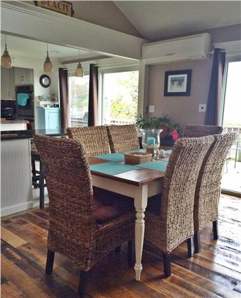 Bourne, Pocasset Cape Cod vacation rental - Double sliders allow ocean views & lots of natural light