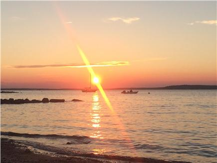 Bourne, Pocasset Cape Cod vacation rental - Beautiful sunset almost every night all summer, don't miss it!