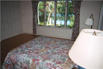 Harwich Cape Cod vacation rental - Master bedroom with pond views
