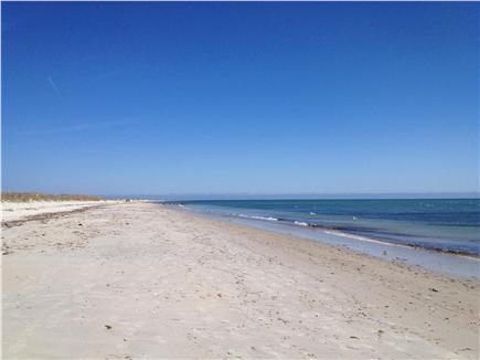 West Yarmouth - Seagull Beach Cape Cod vacation rental - Seagull Beach, looking East
