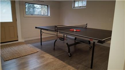 South Harwich Cape Cod vacation rental - Ping Pong anyone? Walkout basement to lower patio